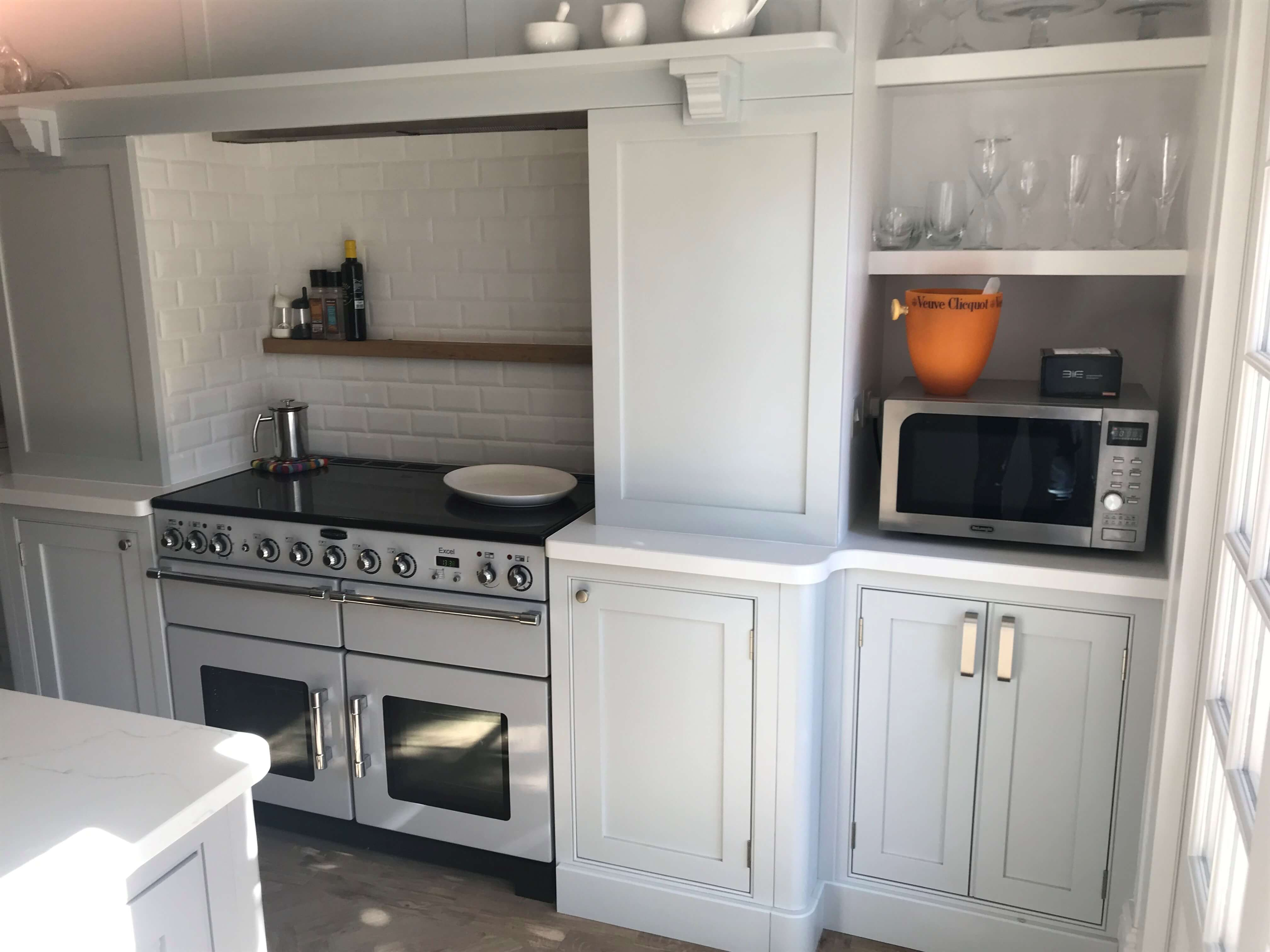 Shaker Kitchen, Bespoke Fitted furniture, Storage, Shelves, Fitted Shelf's, Kitchen, Bespoke Kitchen, Leamington Spa, Warwick, Elegant Bespoke living, Joinery, Carpentry